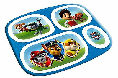 Paw Patrol Melamine Plate with Dividers FREE SHIPPING (BRAND NEW)