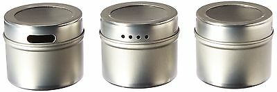 Kamenstein Magnetic Storage Tins/Spice Racks, Set of 3 FREE SHIPPING