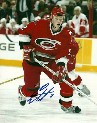 ERIC STAAL SIGNED CAROLINA HURRICANES 8x10 PHOTO #4 Autograph