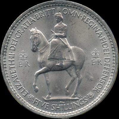 1953 Great Britain 1 Crown Coin