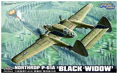 "Northrop P-61A ""Black Widow"" (1:48 by Great Wall Hobby)"
