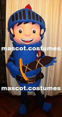 """New Mike the knight Mascot Costume Character Sz. 5' 9"""" Professional"""