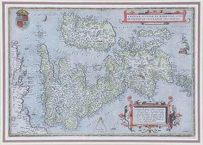 British Isles map by Abraham Ortelius Lot 2109