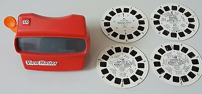 Vintage Viewmaster With 4 Slide Wheels *Excellent Condition*