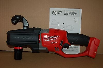 Brand New Milwaukee M18 FUEL HOLE HAWG Right Angle Drill w/ QUIK-LOK  2708-20
