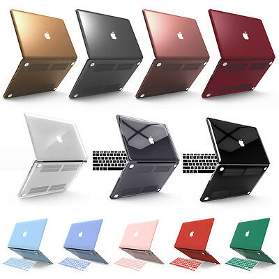 "Plastic Hard Case+Keyboard Cover+Film For Macbook Air 11""13"" Retian13""15"" Pro13"""