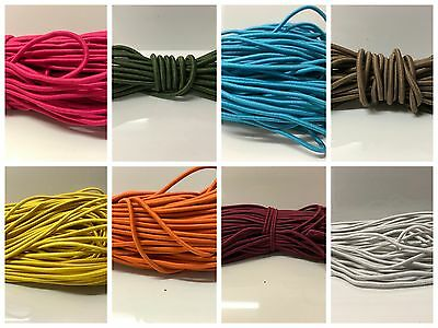 3.00mm ELASTIC BUNGEE ROPE SHOCK CORD TIE DOWN different colors(10.0 metres)
