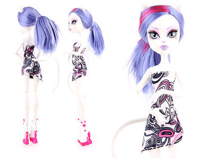 Doll accessories Doll Clothes Tube Top dress For monster high school doll s3