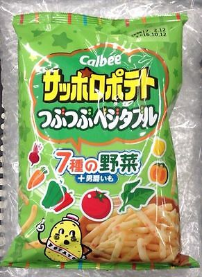 Sapporo Potato Vegetable 85g Calbee Japan japanese snack