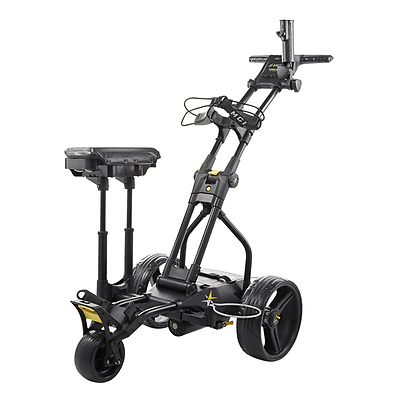 MGI 'Ryder Tri' Electric Golf Buggy - Lithium Battery - Black