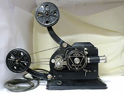 Rare WWII 1938 16mm AGFA Record. Projector. Very Collectible. VERY RARE. WORKING