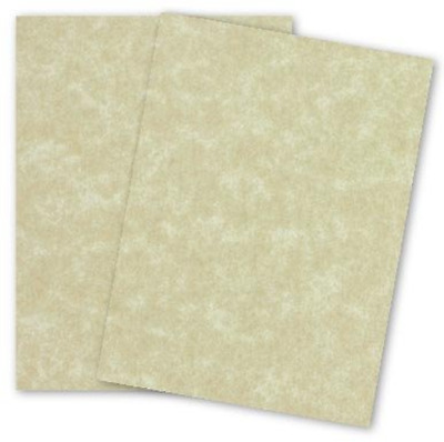 AGED Parchment Card Stock Paper 8-1/2-x-11-inches - 80lb Cover - 100 PK