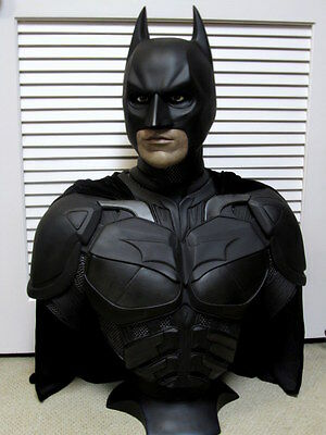 Hollywood Collectibles Christian Bale Batman Life Size Bust NEU!!