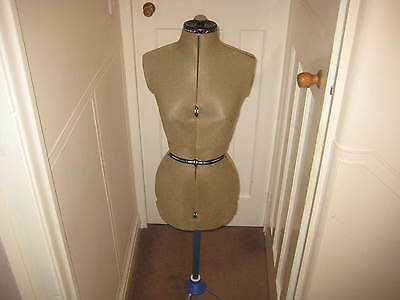 Vintage Adjustable Mannequin  Tailors Dummy Good  Condition on Stand