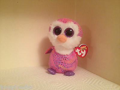 """HTF ***Patty*** 2014 Ty Beanie Boo~6"""" Penguin~ Store Exclusive~ MWMT!!! WOW!!"""