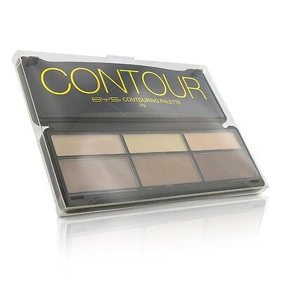 NEW BYS Contour Palette (3x Contouring Powder, 3x Highlighting Powder) 20g