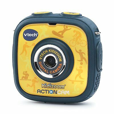 VTech Kidizoom Action Cam, Yellow/Black FREE SHIPPING (BRAND NEW)