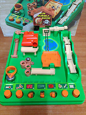 Vintage 1979 Toltoys - Run Yourself Ragged Game