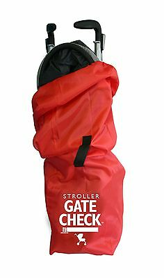 J. L. Childress Gate Check Air Travel Bag for Umbrella Strollers, Red (NEW)