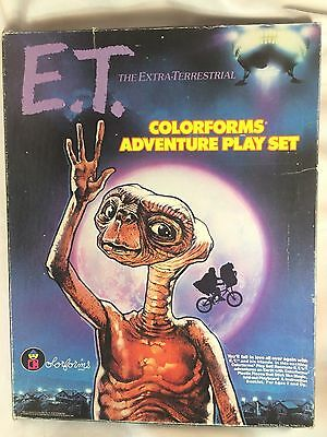 Colorforms Vintage 1982 E.T. Extra-Terrestrial Adventure Play Set Game Collector