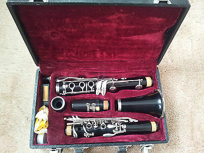 CLARINET WITH CASE and extras - GOOD CONDITION