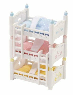 Calico Critters Triple Baby Bunk Beds FREE SHIPPING (BRAND NEW)