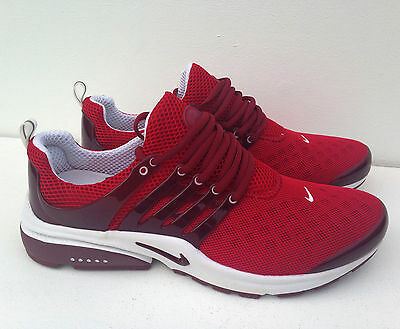 New Nike Air Presto Red Size 5.5 Trainers Shoes Shox