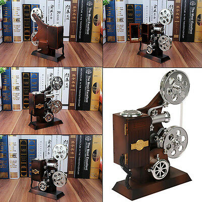Antique Music Box Film Projector storage box Handicraft Gifts Home Decoration