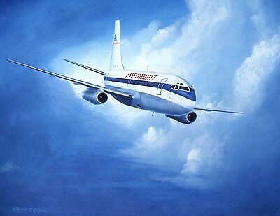 Piedmont Airlines 737 Notecards with Envelopes - 12 Pack