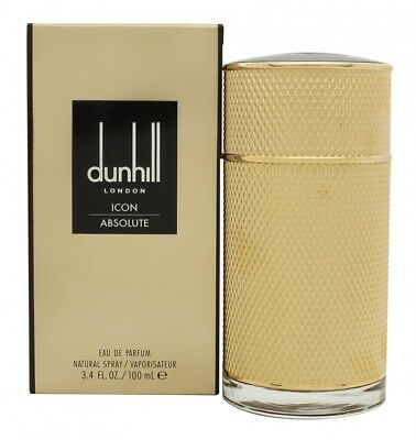 Dunhill Icon Absolute Eau De Parfum 100Ml Spray - Men's For Him. New