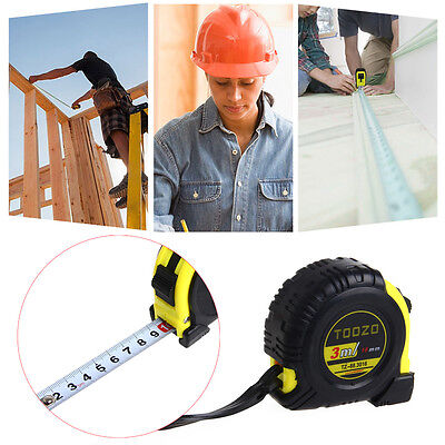 3M 5M Professional Measuring Tape Auto Lock Measurement Measure Woodworking Tool