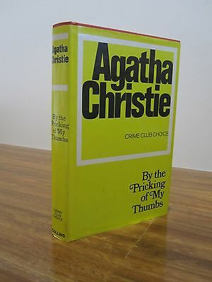 Agatha Christie First Edition Book - By The Pricking of My Thumbs 1968