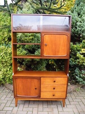 Mid Century Modern Danish 1960s Large Teak Wall Unit, Bookcase, Room Divider