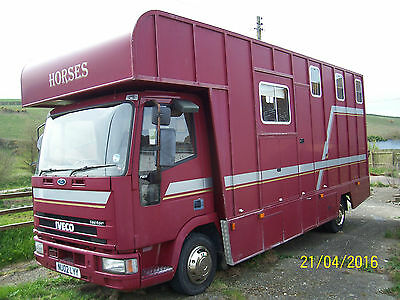 Iveco-Ford 7.5 Tonne Horsebox