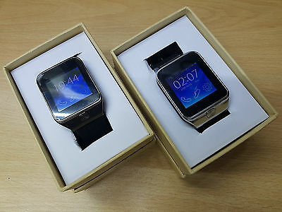 Bluetooth DZ09 Smart Watch For Android HTC Samsung iPhone iOS Camera SIM SD Slot