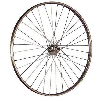 Taylor Wheels 28 pollici ruota posteriore bici Westwood contropedale argento