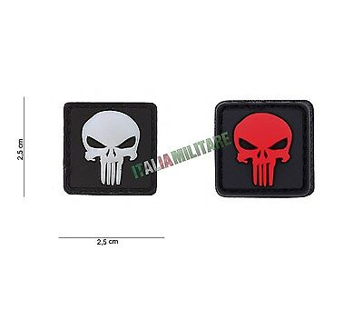 Patch Toppa Punisher Punitore in Pvc
