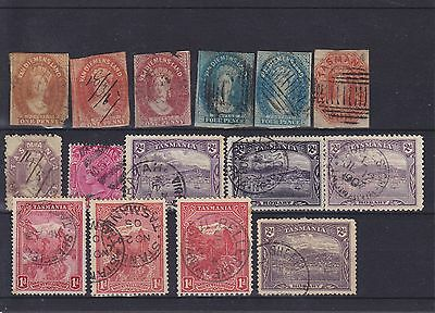 Australia Tasmania QV Used Collection