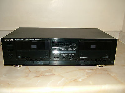 Kenwood Stereo Double Cassette Deck