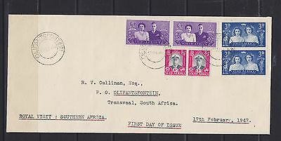 South Africa KGVI SG 111/113 Used Cover (9)