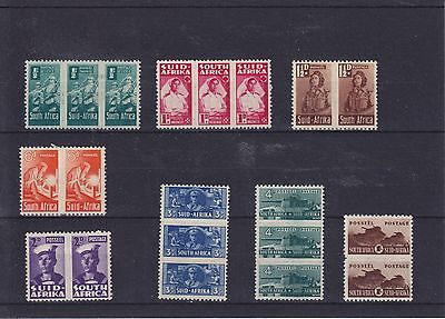 South Africa KGVI  SG 97/104 Cat £50.00 Mounted Mint