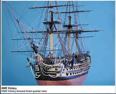 HMS Victory Superb Accurate Kit by Caldercraft Exact Scale 1:72 Length 1385mm