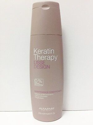 Alfaparf Keratin Therapy Lisse Design Conditioner 250 Ml 0%solphate,salt,paraben
