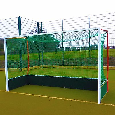 Self-Weighted Aluminium Hockey Goal - Single / Pair [Net World Sports]