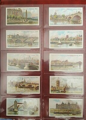 TADDY - FULL SET -THAMES SERIES - issued 1903