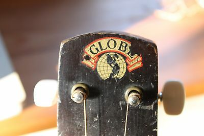 "1935 ""Globe"" Faux Resonator made in Chicago."