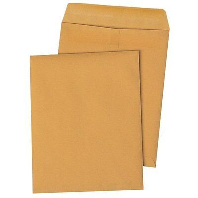 Quality Park Redi-Seal Catalog Envelopes, 10x13, 28lb, Kraft, 100/Box
