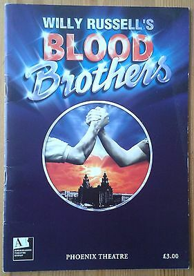 Blood Brothers programme Phoenix Theatre late 2008 Niki Evans Craig Price