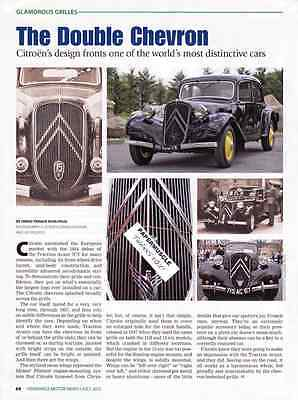 1934 Citroen Traction Avant 7Cv  ~  Nice Article / Ad