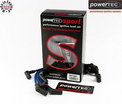 PowerTEC Sport 8mm Ignition Leads HT Lead Set Volvo 440/460 480 1.7 2.0 Turbo